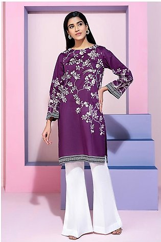 PS20-204 Printed Stitched Lawn Shirt - 1PC