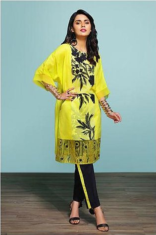 42001317- Printed Embroidered Lawn & Cambric 2PC