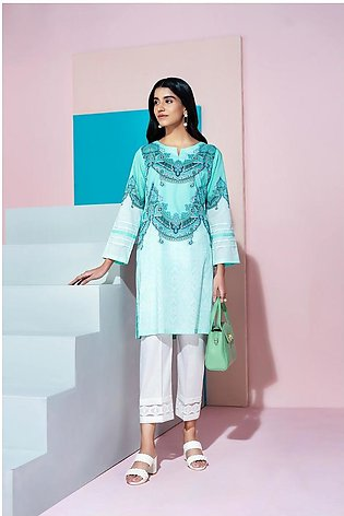PS20-198 Printed Stitched Lawn Shirt - 1PC