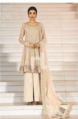 41908006-Poly Net – Peach Embroidered Luxury Unstitched 3PC
