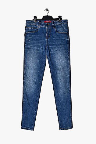 GUESS MID RISE Skinny destroyed Jeans