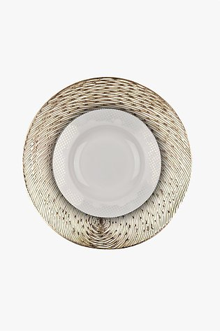 Yalle Round Place Mat (Pack of 2)