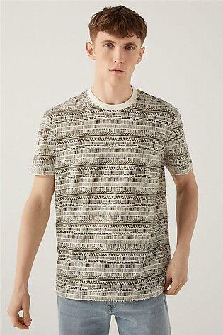 NATURE FUSION ALL OVER PRINT T-SHIRT