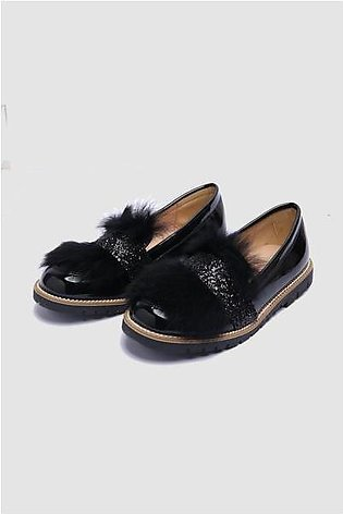 Patent Penny Loafers