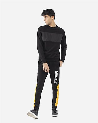 Panelled Jogging Trousers