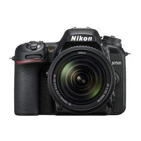 Nikon D7500 20.9 MP 18-140mm VR Lens Wi-Fi DSLR Camera Black