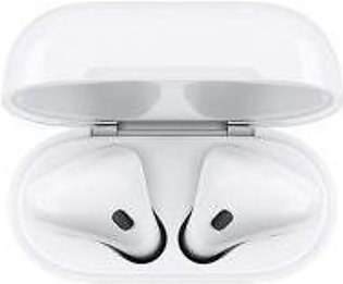 Apple AirPods 2 Wireless Headphones (Optional Wired & Wireless Charging, Origin…