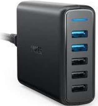 Anker PowerPort Speed 5 With Dual Quick Charge 3.0 (Black)
