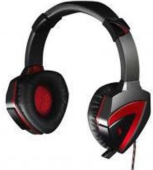 A4TECH G501 Bloody Gaming Headset 7.1 Surround Sound - Bloody+Black