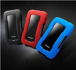 """ADATA HD330 1 to 4 TeraByte 2.5"""" External Slim HDD (Colors Available, 2 Years..."""