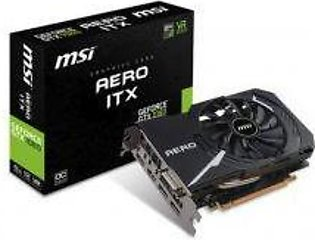 MSI GEFORCE GTX 1060 AERO 6G ITX 6GB GDDR5 192-Bit Graphic Card