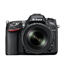 Nikon D7100 24 MP 18-140mm Lens Wi-Fi DSLR Camera Black