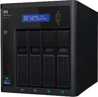 Western Digital My Cloud EX4100 0TB External Hard Drive
