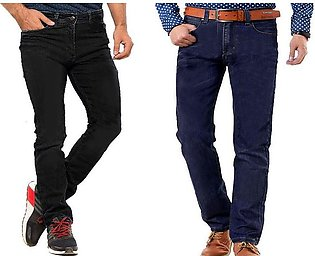 Pack of 2  Men's Straight Fit Jeans