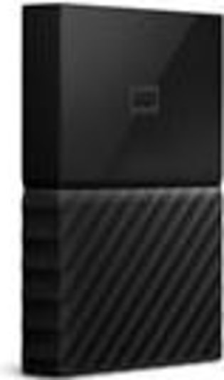 WD - My Passport 1TB External USB 3.0 Portable Hard Drive - Black