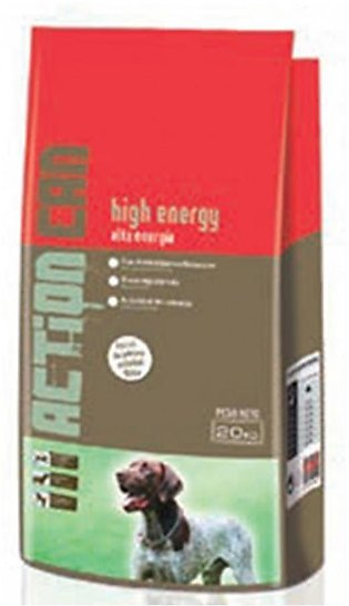 Action Can High Energy Dog Food 20KG
