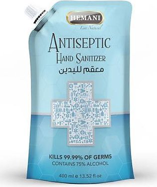 Antiseptic Hand Sanitizer Pouch 400ml