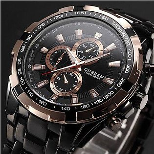 Branded New SALE CURREN Watches Men quartz Top Brand Analog Military male Wat...