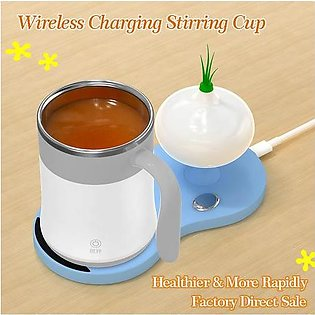 Branded Automatic Electric Coffee Milk Mixing Mug Smart Stainless Steel Juice...
