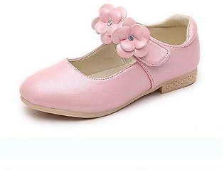 Branded Hot Spring Bowknot Big Girls Shoes With Rose Flower Fashion Princess ...
