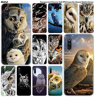 Branded Hot colorful owls Silicone Case For Xiaomi Pocophone F1 9T 9 9SE 8 A2...