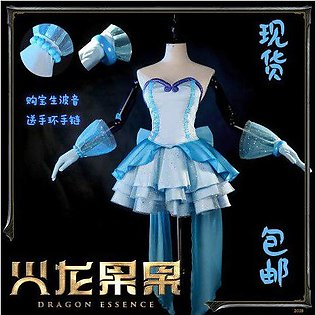 Branded Mermaid Melody Pichi Pichi Pitch Hanon Hosho Gorgeous Uniform Cosplay...
