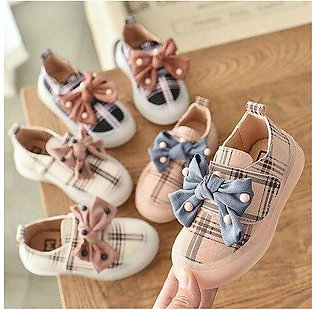 Branded Children girls casual shoes Girls  Shoes Flat gride bnowkot Shoes 21-...