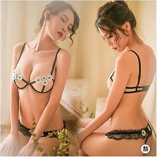 Branded Women's Sexy Lingerie Hot Erotic Lingerie Transparent Lace Sexy Under...