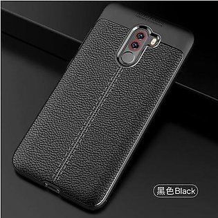Branded YUETUO leather Pattern phone back etui,coque,cover,case for xiaomi po...
