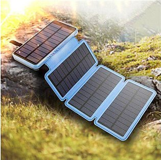 Branded 10000mAh 20000mAh Foldable Solar Power Bank Waterproof Powerbank with...