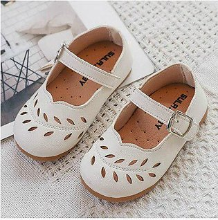 Branded Fashion Baby Girls Shoes Ballet Flat Shoes Casual Hollow Out Wedding ...