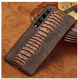 Branded Genuine Leather Phone Case for Xiomi Mi 10 10 Pro 8 9 Lite 9T Note 10...