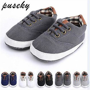 Branded Puseky Newborn Baby Boy Shoes First Walkers Spring Autumn Baby Boy So...