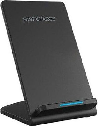 Branded Powerport Powerwave Stand 10W Fast Wireless Charger For Iphone 8/8 Pl...
