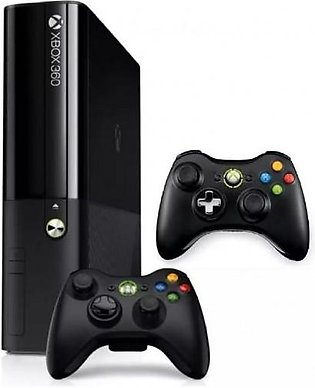 Xbox 360 Ultra Slim J Tag - One Extra Controller - 10 Games Inclusive - 500 G...