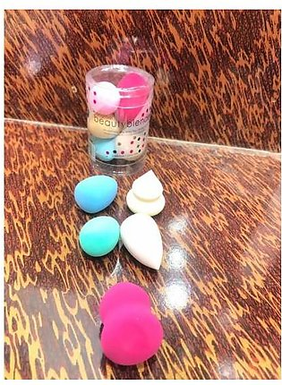 MINI BLENDER PUFFS 5 PIECES MAKEUP SPONGES