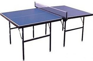 Table Tennis Table With Rackets - Multicolor