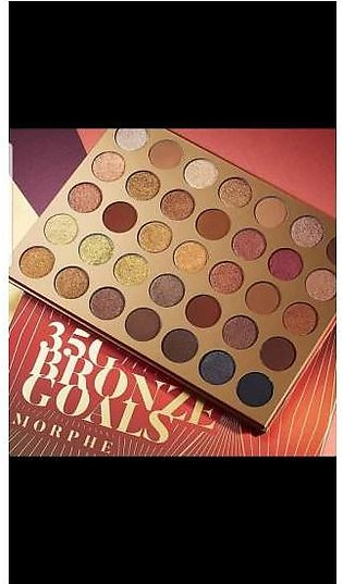 Morphe 35g bronze goal 35 color eyeshadow palette