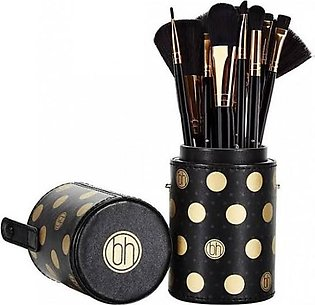 BH Cosmetics Makeup Brush set Black and White