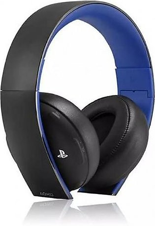 Wireless Headset - For PS4, PS3, PS Vita - Blue and Black