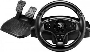 T80 Racing Wheel for PS3 and PS4 - Black