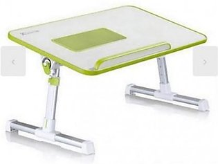 Super Laptop Table A-8 White &Green