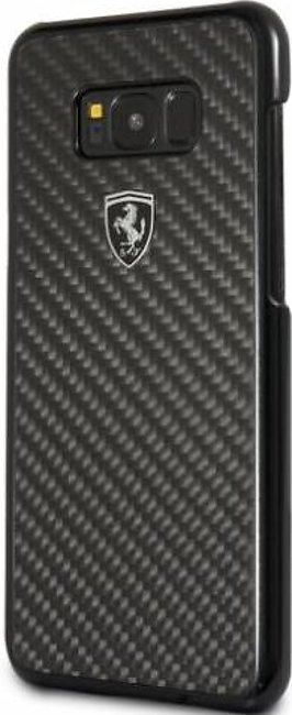Scuderia Ferrari Galaxy S8 Case Heritage Collection Real Carbon