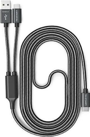 RAVPower Braided 2-in-1 Cable Type-C Cable 3.3ft
