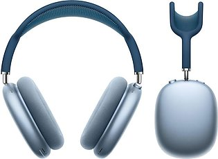 Apple Airpods Max Sky Blue With Blue Headband