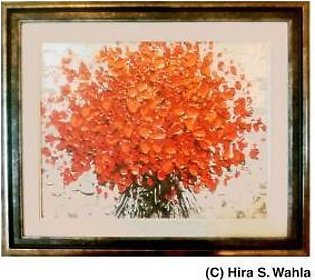 -Inspired Art- Canvas Painting - Petals