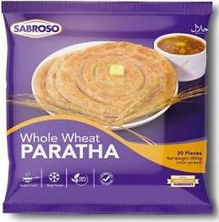 Sabroso Whole Wheat Paratha 30pcs Pack