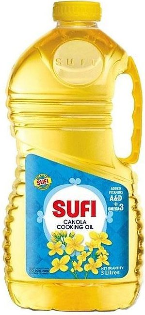 SUFI CANOLA COOKING OIL 3LTR
