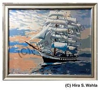 -Inspired Art- Canvas Painting - Classic Yachts