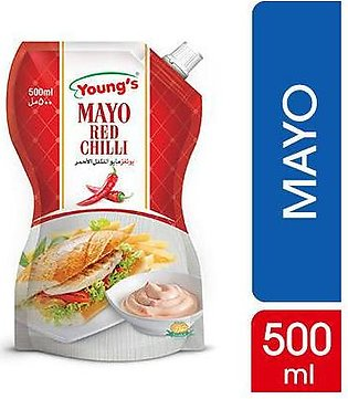 Youngs Red Chilli Mayonnaise  500 gm